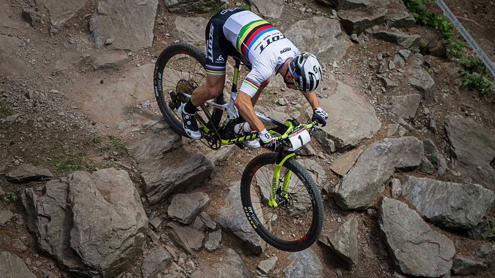 Spark Built With Perfection Bred To Win Scott Sports Jersey Sepeda Downhill Trail Tld White Simple Technologies